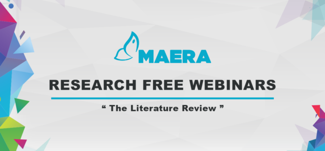 "Maera – Webinar ""The Literature Review"""