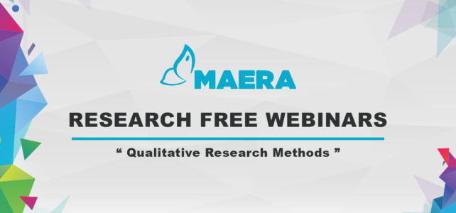 "Maera – Webinar ""Qualitative Research Methods"""
